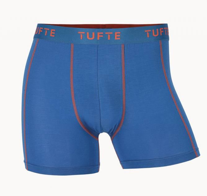 Bilde av Tufte Mens Essentials Boxer Briefs Victoria Blue