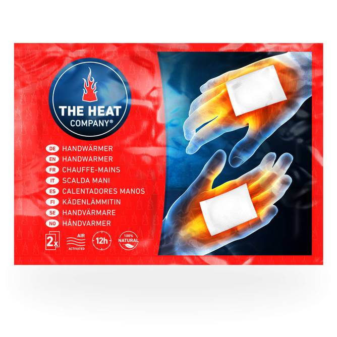 Bilde av Håndvarmer 2 pack. The Heat Company