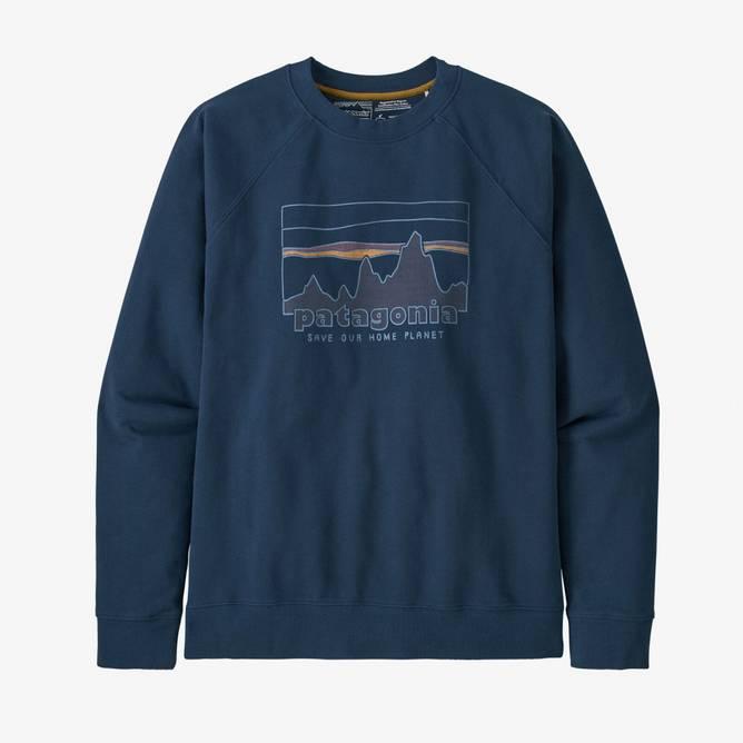 Bilde av Patagonia M '73 Skyline Organic Crew Sweatshirt