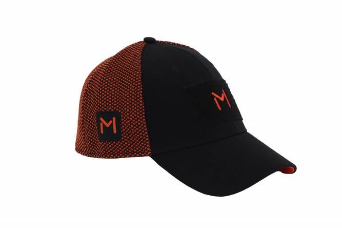 Bilde av Lars Monsen Alta Mesh Caps - Black/Orange