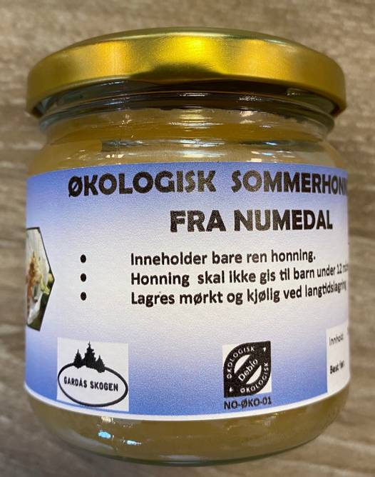 Bilde av Honning fra Numedal 250 g (Økologisk)